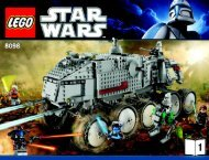 Lego Clone Turbo Tank™ - 8098 (2010) - Plo Koon's Jedi Starfighter™ BI 3009 76+4 8098 V.29 1/2