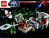 Lego Palpatine's Arrest - 9526 (2012) - Sith™ Fury-class Interceptor™ BI 3016/72+4-9526 V29/39