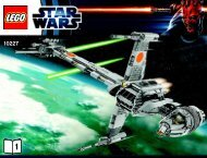 Lego B-Wing Starfighter™ - 10227 (2012) - Super Star Destroyer™ BI 3019/60+4*- 10227 V 29/39 1/3