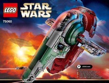 Lego Slave I™ - 75060 (2015) - B-Wing™ BI 3019/296+4/65+200g -75060 V29