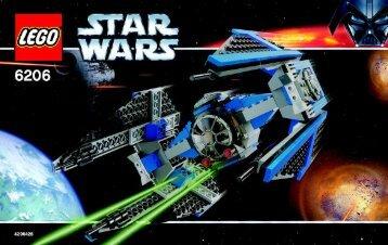 Lego TIE Interceptor™ - 6206 (2006) - Millennium Falcon™ BI 6206 NA