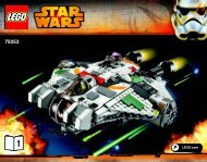 Lego The Ghost - 75053 (2014) - B-Wing™ BI 3016/72+4/65+115g-75053 1/2 V39
