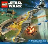 Lego Naboo Starfighter™ - 7877 (2011) - Count Dooku's Solar Sailer™ BI 3005/60+4-7877 V39
