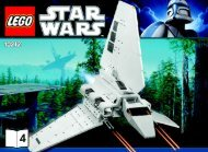 Lego Imperial Shuttle™ - 10212 (2010) - Ultimate Collector's AT-ST™ BI 3006/80+4 10212 V.46/39 4/4