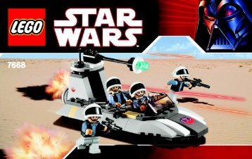 Lego Star Wars Value Pack - 66308 (2009) - Star Wars Copack BI, 7668