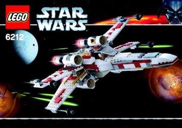 Lego Star Wars 6212 Pack - 66221 (2007) - Star Wars Copack BI  6212 NA