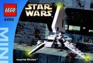 Lego MINI Imperial Shuttle™ - 4494 (2004) - MINI AT-AT™ BI  4494