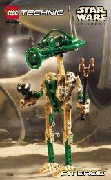 Lego Pit Droid™ - 8000 (2000) - Republic Frigate™ BI FOR 8000