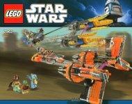 Lego Anakin's & Sebulba's Podracers™ - 7962 (2011) - Imperial V-wing Starfighter™ BI 3016 80+4/65g 7962 V29
