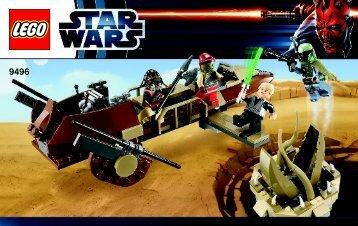 Lego Desert Skiff™ - 9496 (2012) - Droid™ Escape BI 3004/56+4-G.115g*- 9496 V29/39