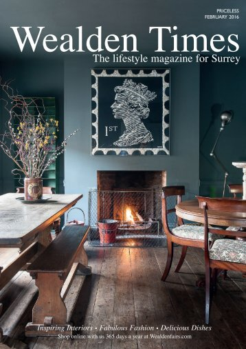 Surrey Homes | SH16 | February 2016 | Wedding supplement inside