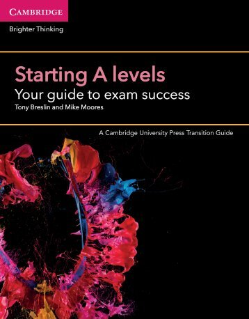Starting A levels