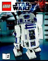 Lego R2-D2™ - 10225 (2012) - Super Star Destroyer™ BI 3016/76+4*- 10225 V29/39 2/3