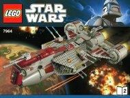 Lego Republic Frigate™ - 7964 (2011) - Republic Frigate™ BI 3009 76+4 7964 V 29 2/2