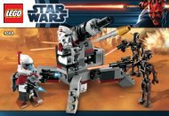 Lego Elite Clone Trooper™ & Commando Droid™ B - 9488 (2012) - Plo Koon's Jedi Starfighter™ BI 3010/32 - 9488 V 29/39