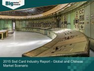 2015 Ssd Card Industry Report - Global and Chinese Market Scenario
