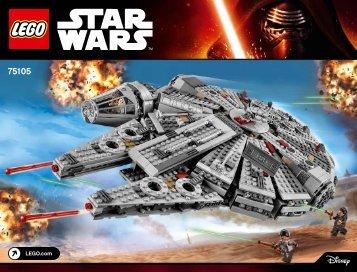 Lego Millennium Falcon™ - 75105 (2015) - Millennium Falcon™ BI 3019, 164+4/65+200g, 75105 V29