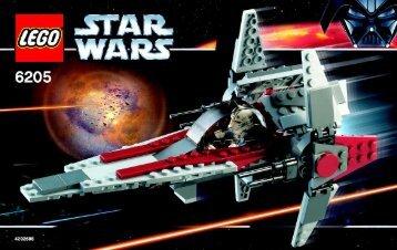 Lego V-wing fighter™ - 6205 (2006) - Millennium Falcon™ BI , 6205