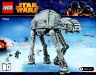 Lego AT-AT™ - 75054 (2014) - B-Wing™ BI 3016/72+4-75054 V29 1/2