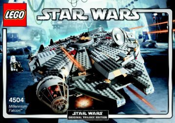 Lego Millennium Falcon™ - 4504 (2004) - Millennium Falcon™ BUILDIGN INSTRUCTION, 4504