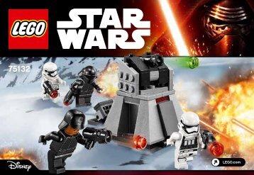 Lego First Order Battle Pack - 75132 (2016) - Millennium Falcon™ BI 3001/24 - 75132 V29
