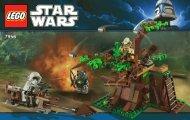 Lego Ewok™ Attack - 7956 (2011) - Imperial V-wing Starfighter™ BI 3004/56 -7956 V 29/39