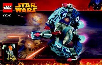 Lego Star Wars Copack - 65771 (2005) - Star Wars Copack BUILDING INSTR. 3003- 7252 NA