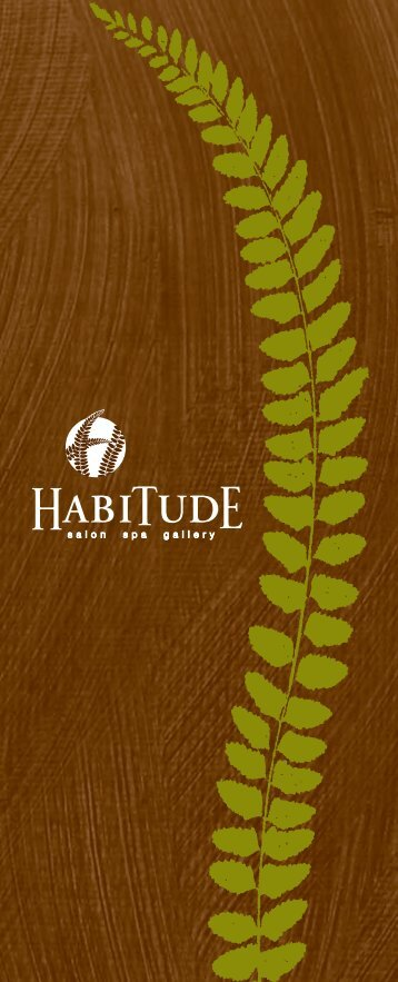 Spa Gift Packages - Habitude