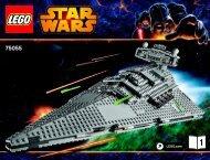 Lego Imperial Star Destroyer™ - 75055 (2014) - B-Wing™ BI 3019/80+4*-75055 1/3 V29