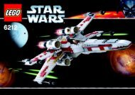 Lego X-wing Starfighter™ - 6212 (2006) - Millennium Falcon™ BI  6212 IN