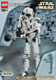 Lego Stormtrooper™ - 8008 (2001) - Republic Frigate™ BI 8008