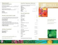 Treatment Enhancements - Essentique Spa Salon
