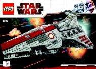 Lego Venator-class Republic Attack Cruiser (TM) - 8039 (2009) - Venator-class Republic Attack Cruiser (TM) BI 3008/72+4-8039 2/2