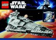 Lego Midi-scale Imperial Star Destroyer™ - 8099 (2010) - Plo Koon's Jedi Starfighter™ BI 3006/48 - 8099 V.39