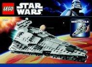 Lego Midi-scale Imperial Star Destroyer™ - 8099 (2010) - Plo Koon's Jedi Starfighter™ BI 3006/48 - 8099 V.29