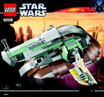 Lego Slave I™ - 6209 (2006) - Millennium Falcon™ BI 6209 NA