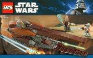 Lego Geonosian Starfighter™ - 7959 (2011) - Imperial V-wing Starfighter™ BI 3004/56 - 7959 V 29/39