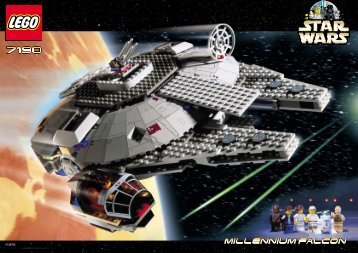 Lego Millennium Falcon™ - 7190 (2000) - TIE Interceptor™ BUILD.INST. FOR 7190