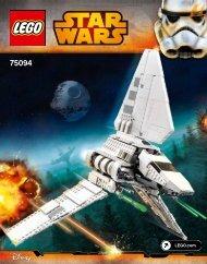 Lego Imperial Shuttle Tydirium™ - 75094 (2015) - Death Star™ Final Duel BI 3016/156+4/65+200g, 75094 V39