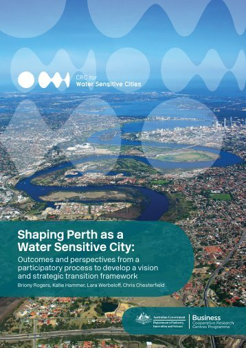 Shaping Perth as a Water Sensitive City