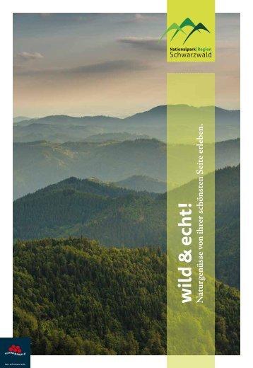 Nationalparkregion Schwarzwald - wild & echt