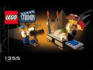 Lego Temple of Gloom - 1355 (2000) - SPIDERMAN EXPANSION PACK BUILDING INSTR. 1355