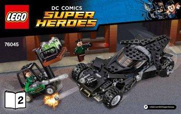 Lego Kryptonite Interception - 76045 (2016) - Ant-Man Final Battle BI 3004/72+4*, 76045 2/2 V29