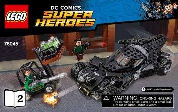 Lego Kryptonite Interception - 76045 (2016) - Ant-Man Final Battle BI 3004/72+4*, 76045 2/2 V39