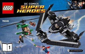 Lego Heroes of Justice: Sky High Battle - 76046 (2016) - Ant-Man Final Battle BI 3004/36, 76046 1/2 V29