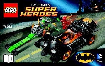 Lego Batman™: The Riddler Chase - 76012 (2014) - Iron Man™: Malibu Mansion Attack BI 3004/36-76012 1/2 V29