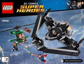 Lego Heroes of Justice: Sky High Battle - 76046 (2016) - Ant-Man Final Battle BI 3019/68+4*, 76046 2/2 V39