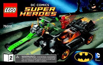 Lego Batman™: The Riddler Chase - 76012 (2014) - Iron Man™: Malibu Mansion Attack BI 3004/72+4*-76012 2/2 V39