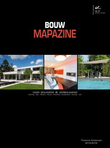BouwMAPazine HERENTALS 2015-2016
