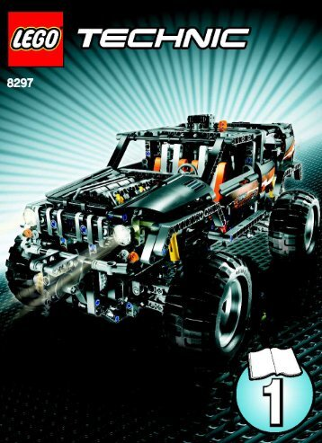 Lego Off Roader - 8297 (2008) - Off Roader BI - 8297 - MODEL 1 - 1/3